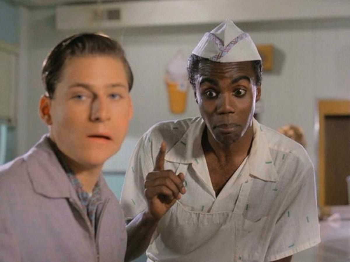 "Two Comic-But-Racist Elements of ""Back To The Future"" Starring Mayor Goldie Wilson"