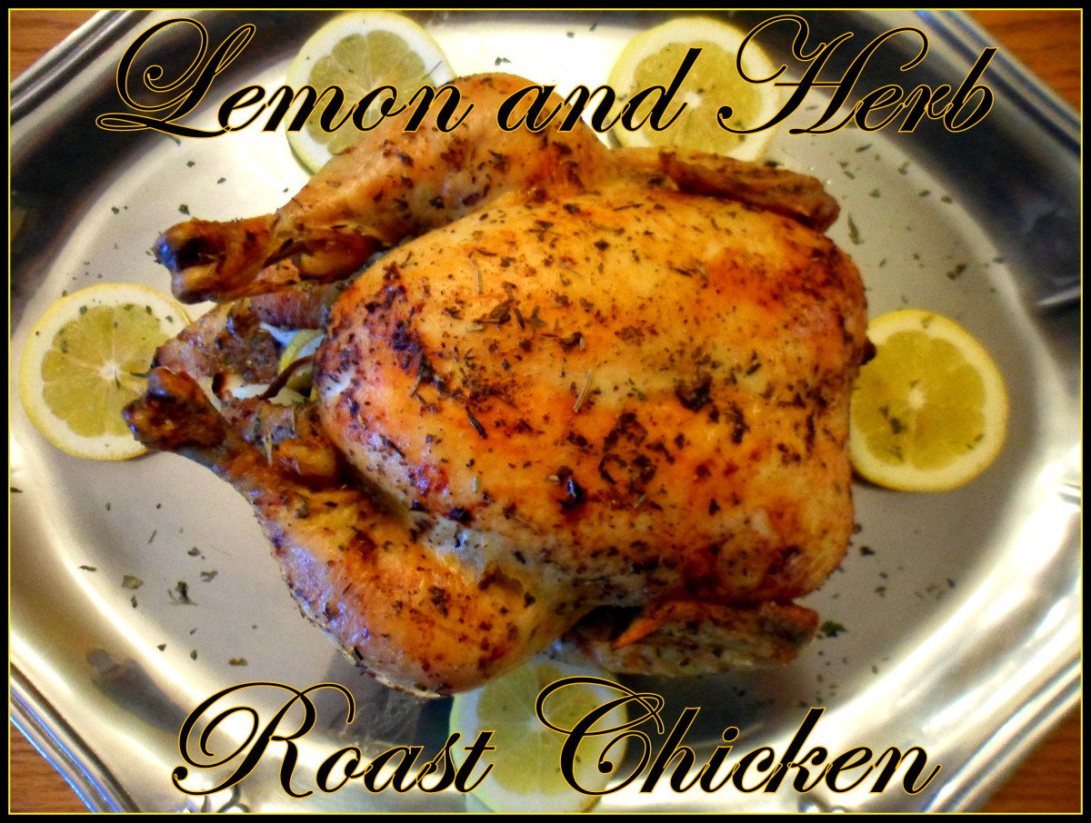 Try this delicious chicken recipe roasted with lemon and herb.