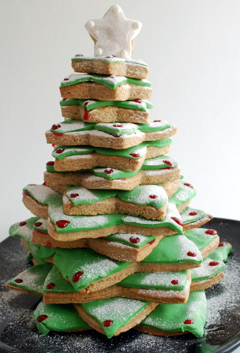 How To Make A Christmas Cookie Tree