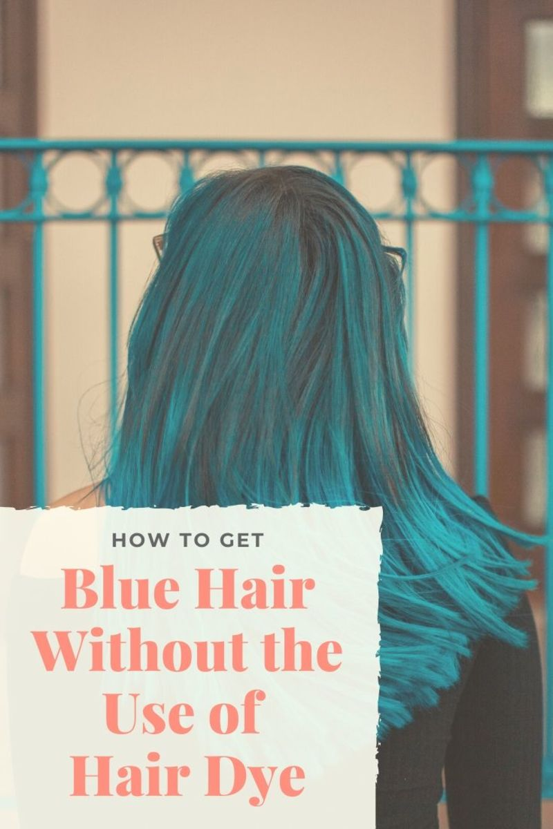 Here's how to color your hair blue without harsh chemicals. These are some fun, easy ways to get blue hair.
