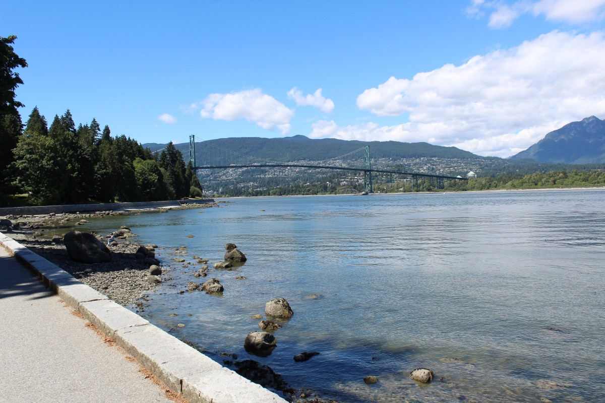 A walk along the Stanley Park Seawall in Vancouver is always enjoyable.