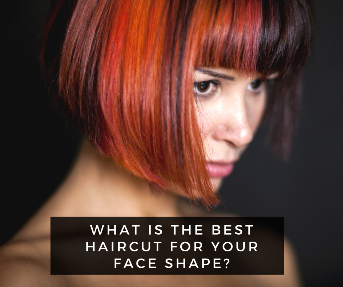 What the best hairstyle is for each face shape? Here's a guide to determining your shape and the best cut for you.