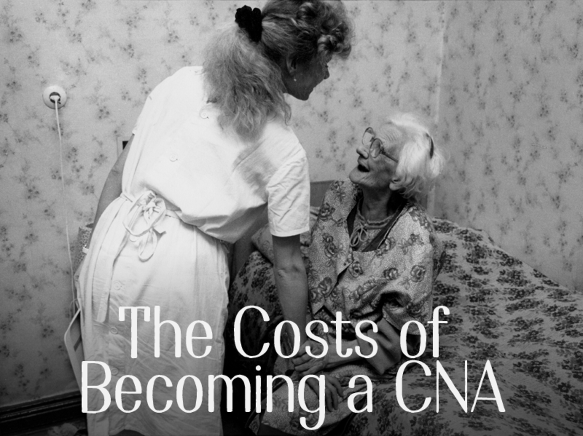 The costs of becoming a CNA.