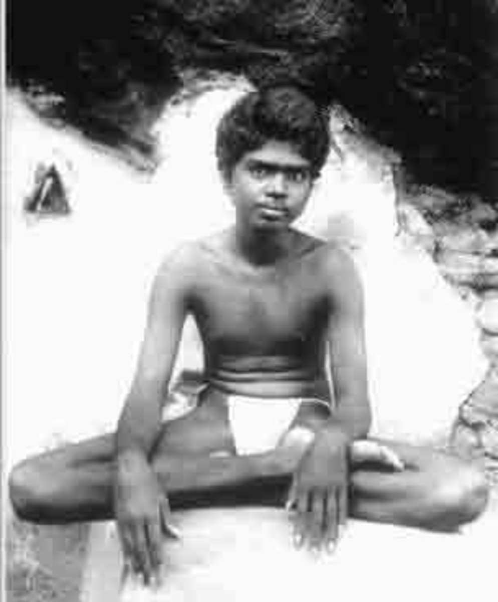 At a tender age, Ramana examined who he was... and decided that he was not the body