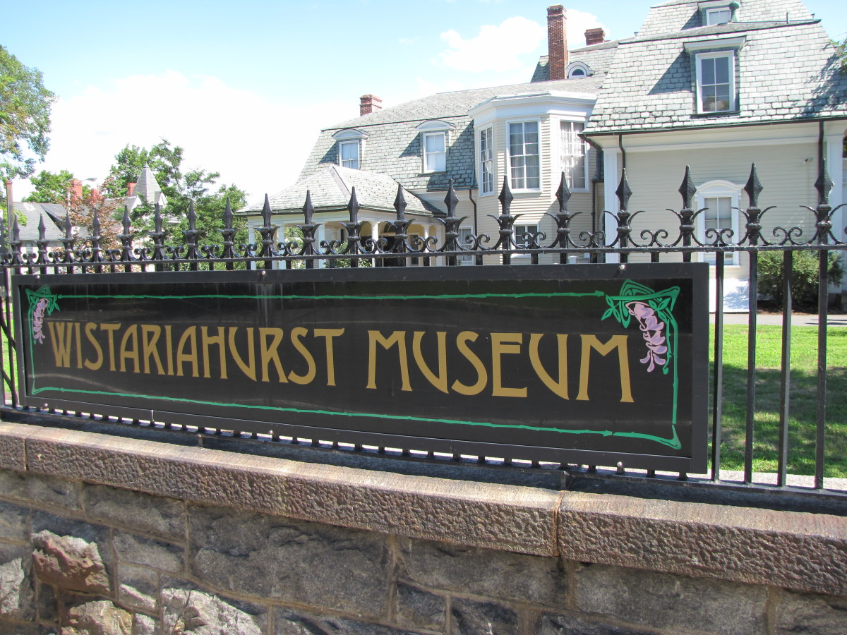 Visiting the Wistariahurst Museum, Holyoke, Massachusetts
