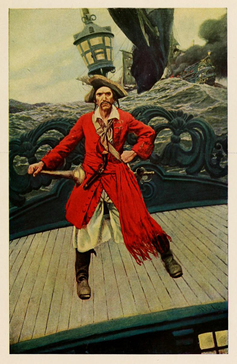 A captain from the Golden Age of Piracy