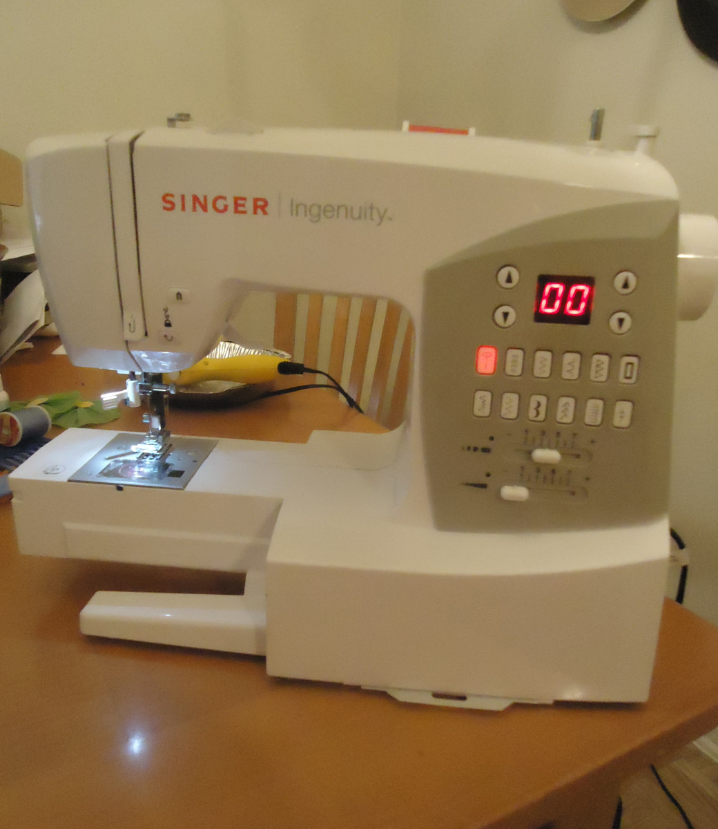 DIY: Fix A Broken Sewing Machine
