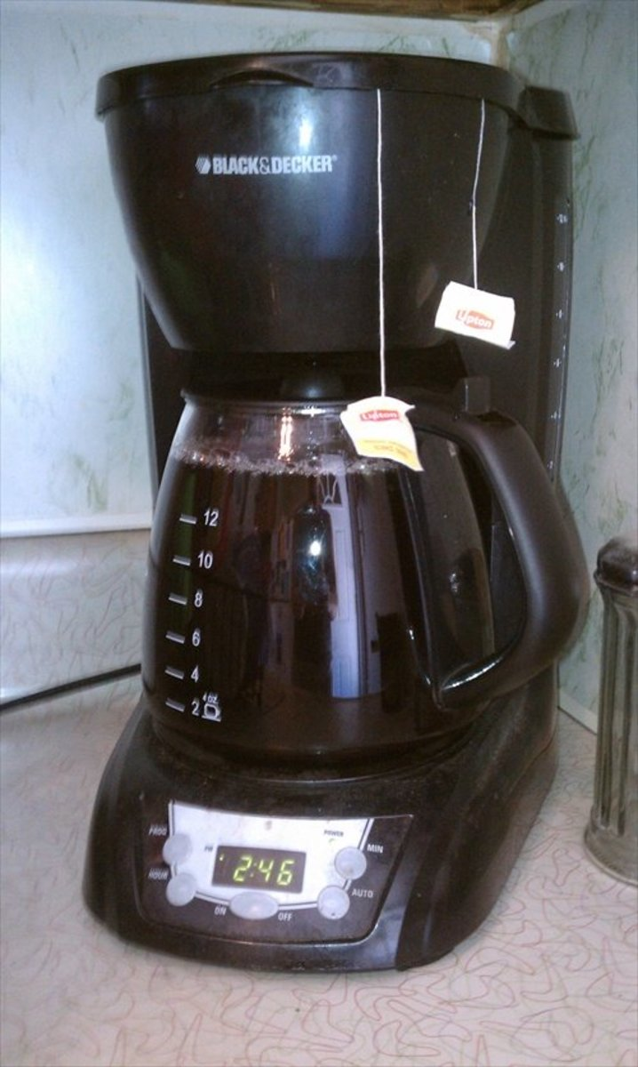 You can use your coffee maker for tea, too!