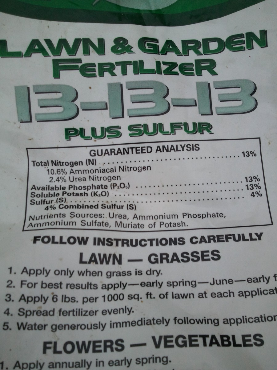 N-P-K (Nitrogen, Phosphorus, and Potassium) Fertilizer