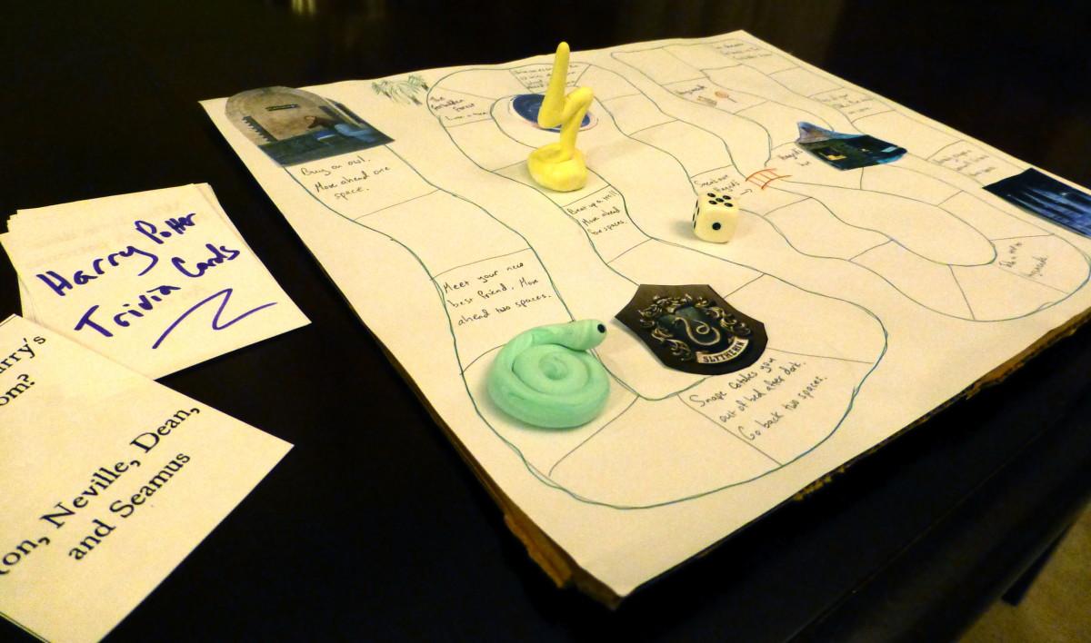 Our trivia game prototype