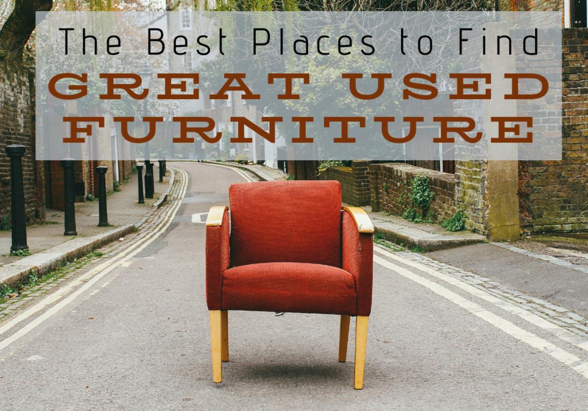 最好的地方找到最好的廉价,旧的,二手家具?