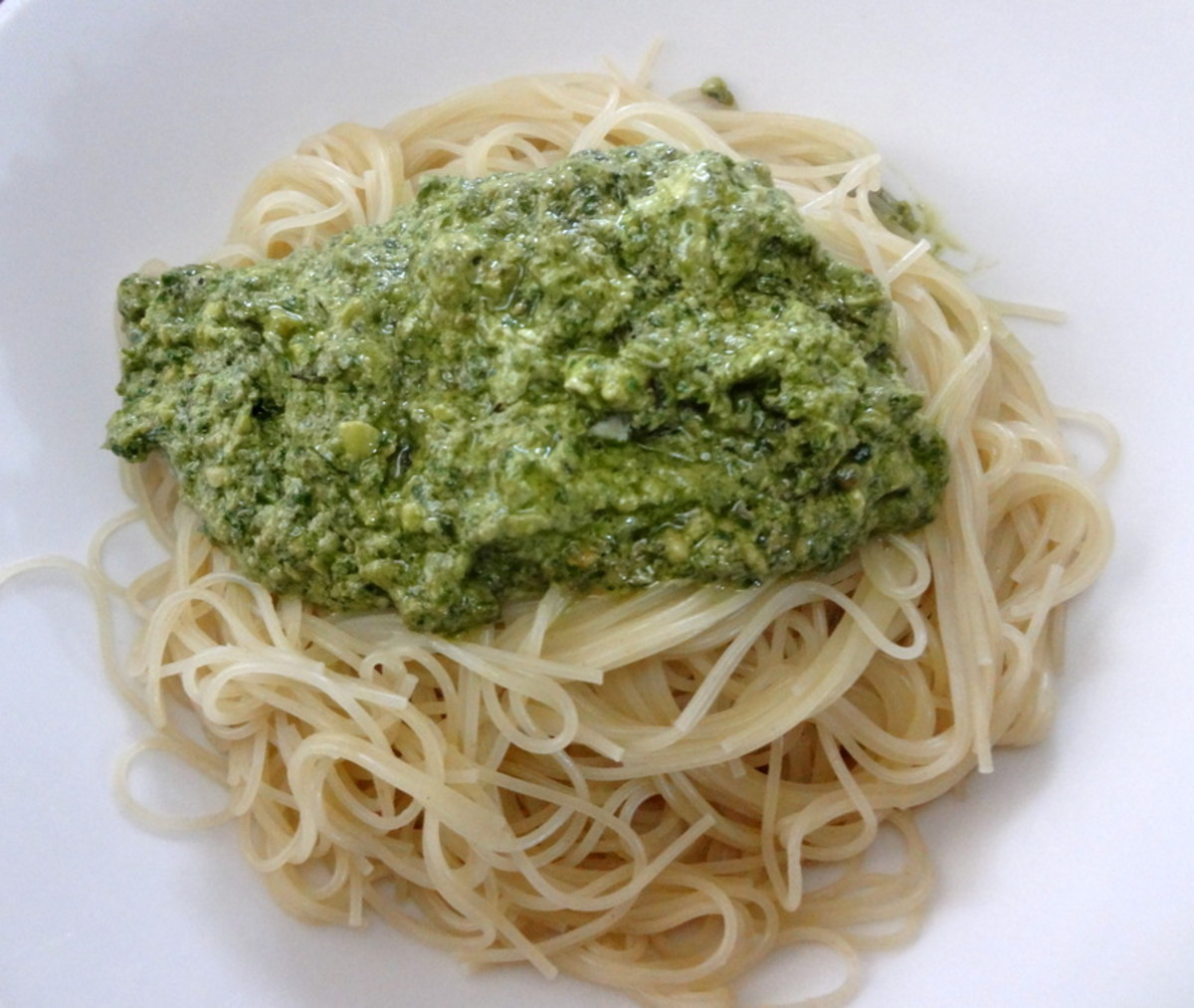 Fresh Basil Pesto & Pasta
