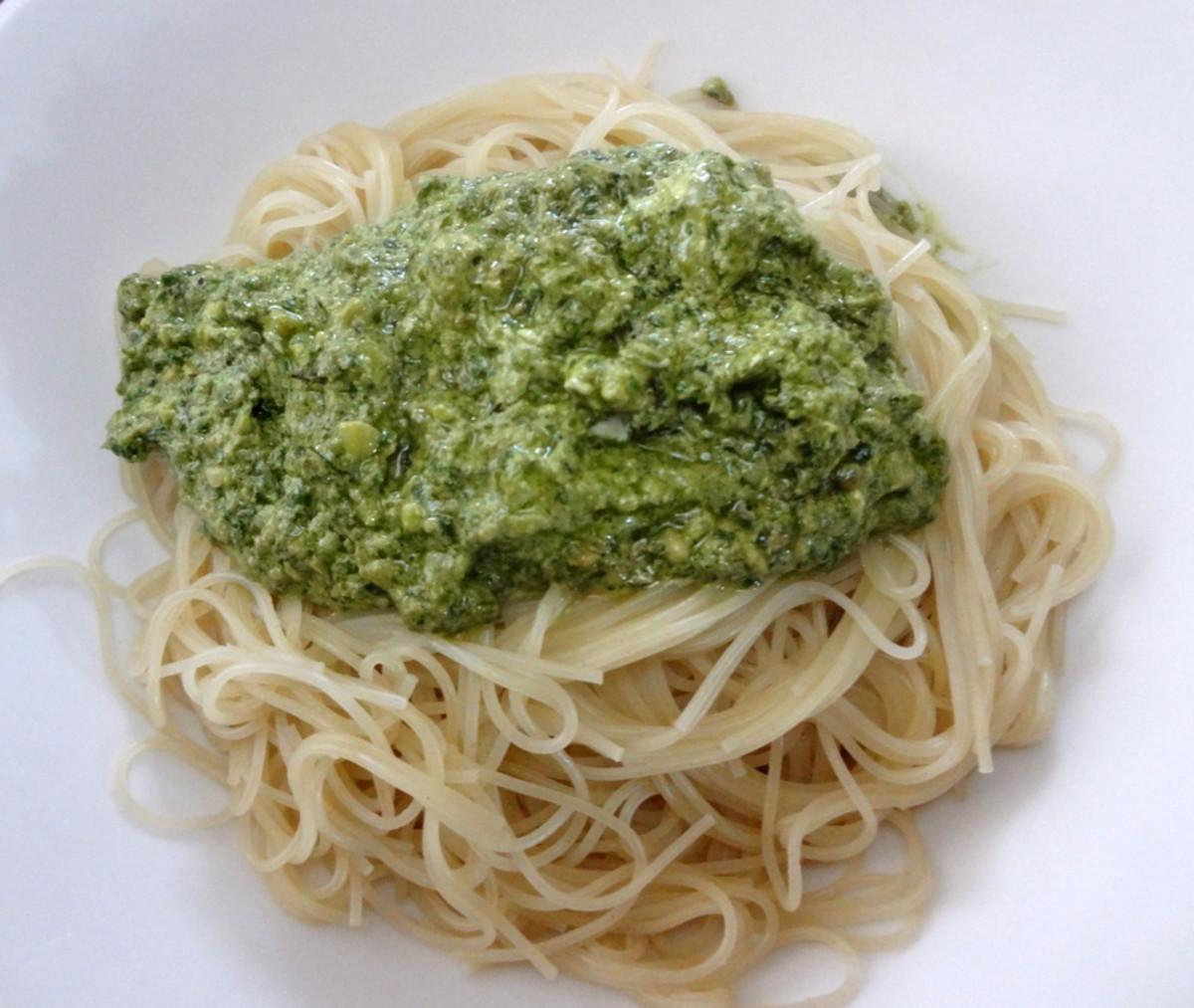 Fresh Basil Pesto & Pasta