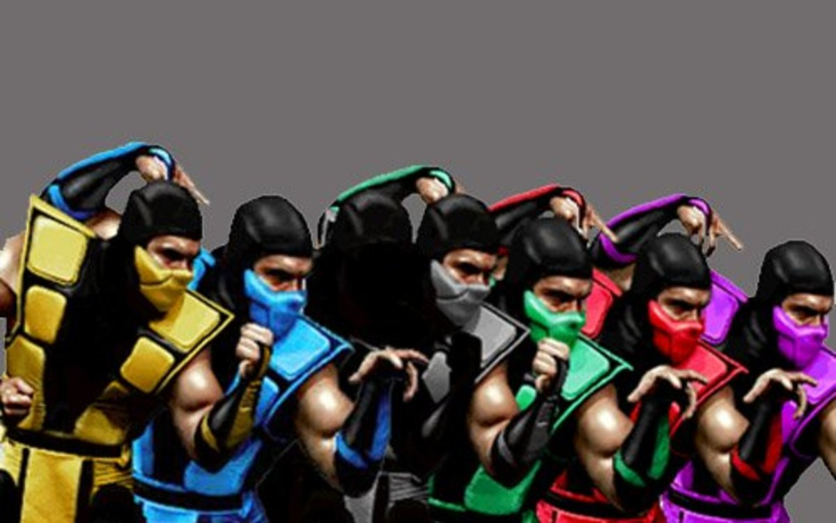 Ranking the Mortal Kombat Ninjas