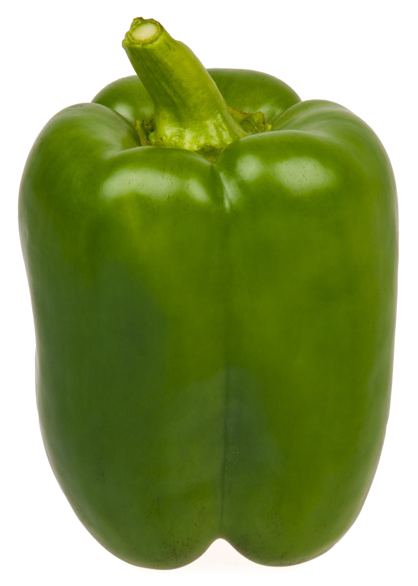 Green Peppers are rich in nutrients.