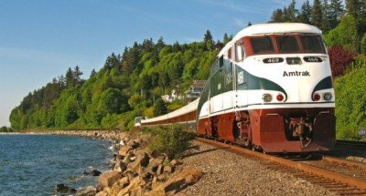 Riding the Amtrak Cascades Train to Vancouver, BC From Portland, OR