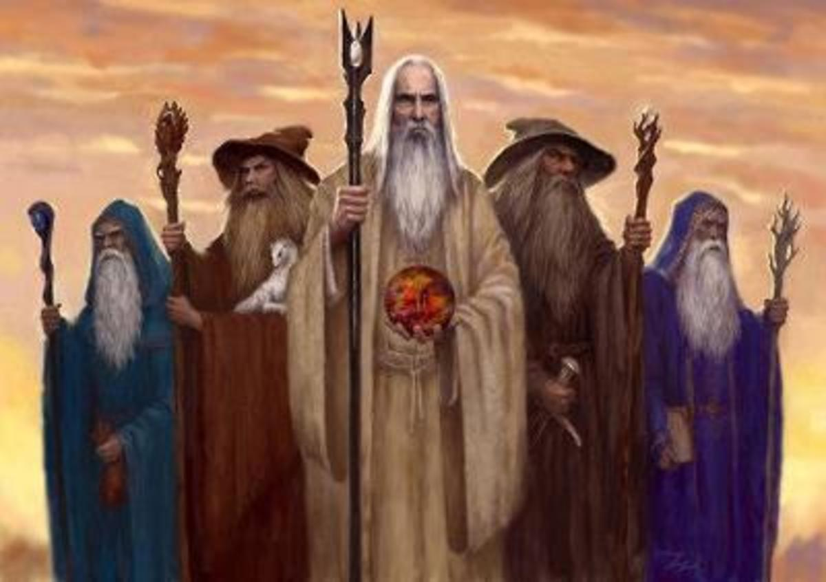 The Five Wizards Of Tolkien's Middle Earth