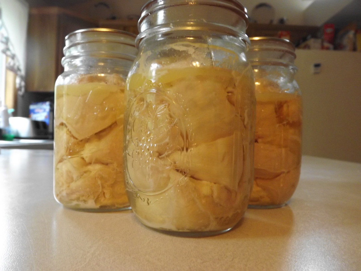 Home Canning Chicken Breast