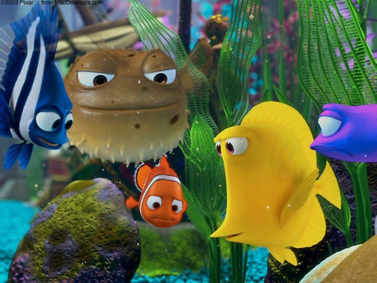 Building a 'Finding Nemo' or Finding Dory Fish Tank