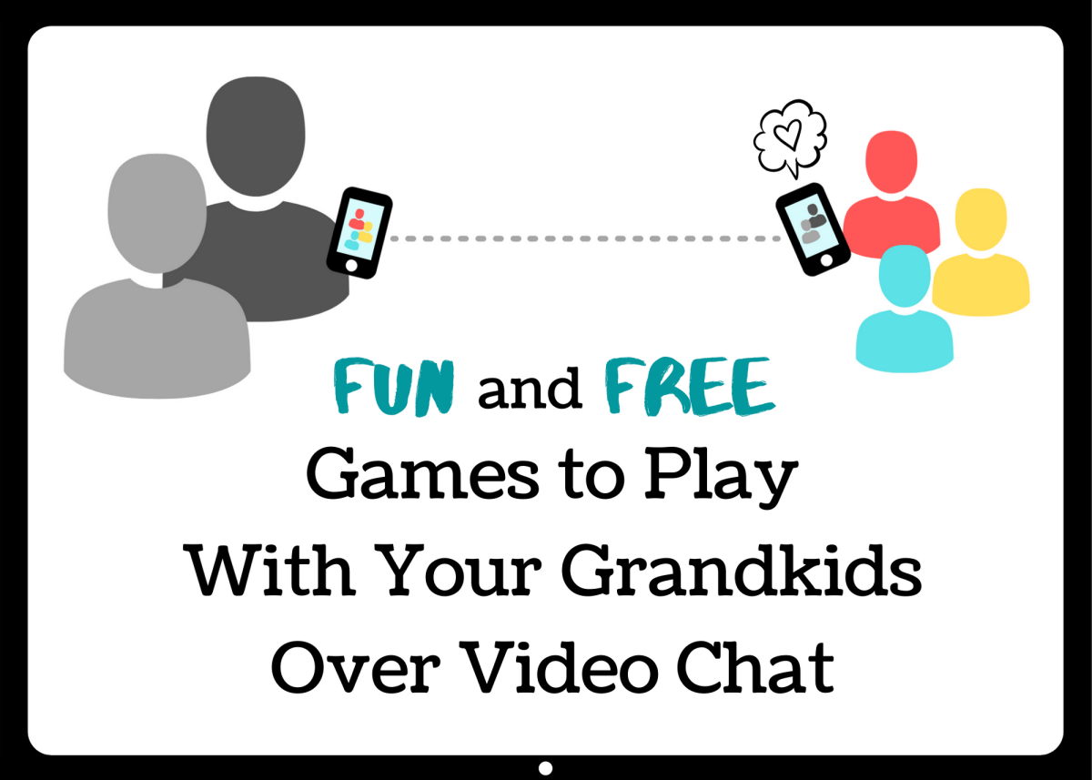 If you're a long-distance grandparent, connecting with your grandchildren over video chat is even easier with these fun and free game ideas.