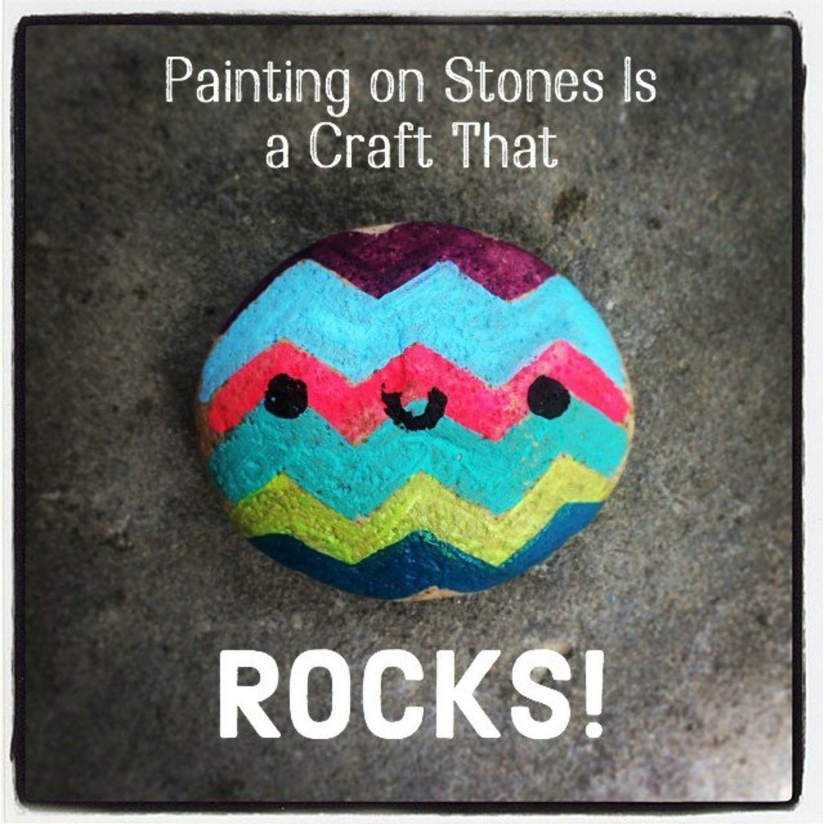 Meet Your New Hobby Painting On Rocks