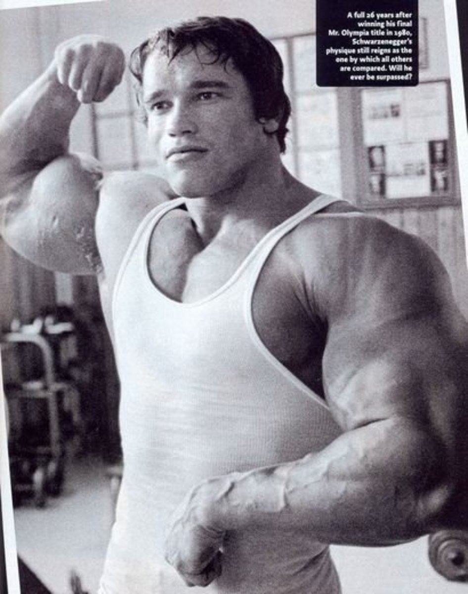 Arnold Schwarzenegger's Workout Routine for the 1975 Mr. Olympia