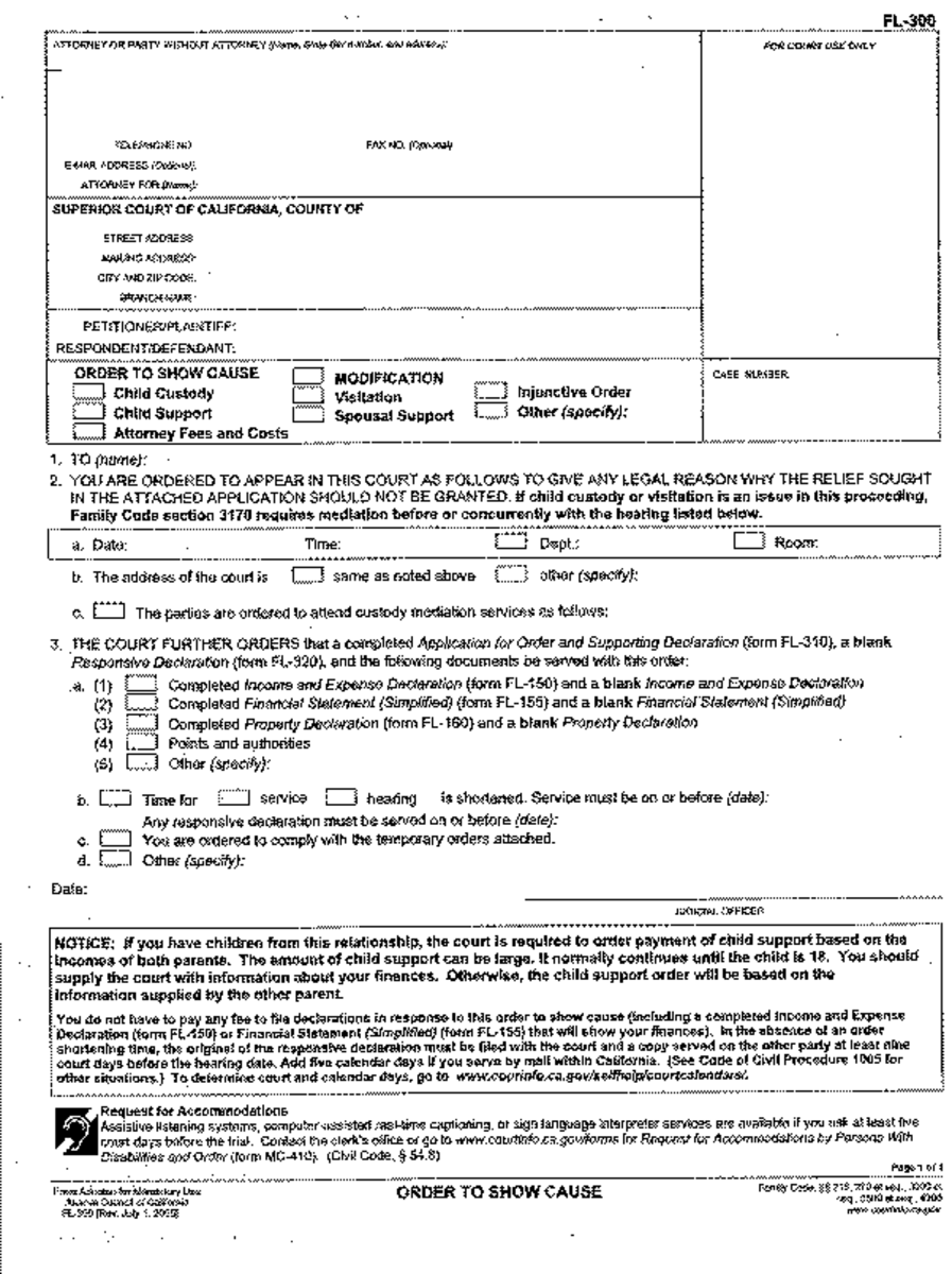 required california divorce forms - 602×805