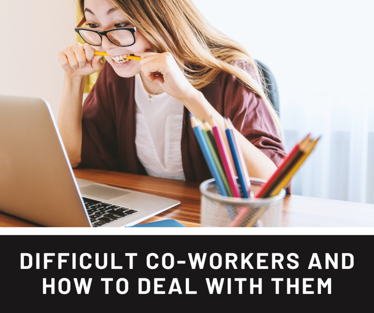 Do you have an annoying co-worker? Read on to learn how to deal them.