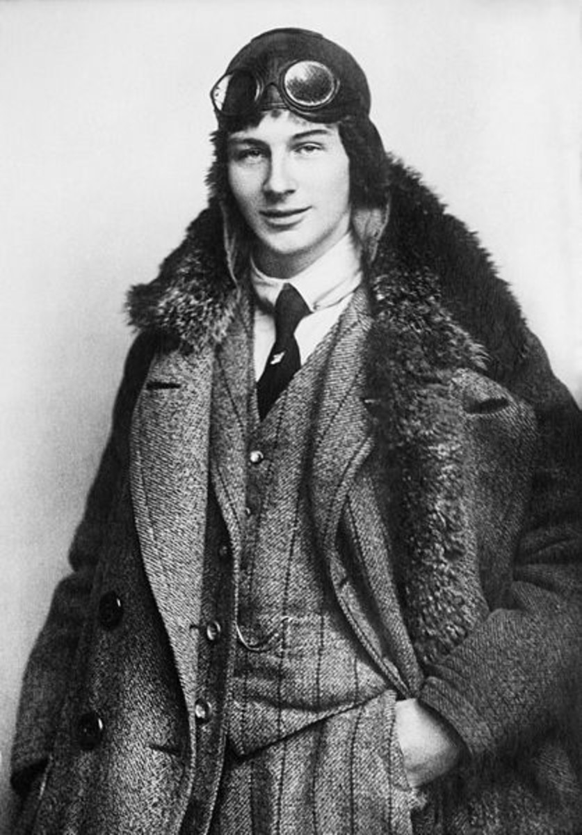"Anton Herman Gerard ""Anthony"" Fokker (6 April 1890 to 23 December 1939) in 1912. Age 22."