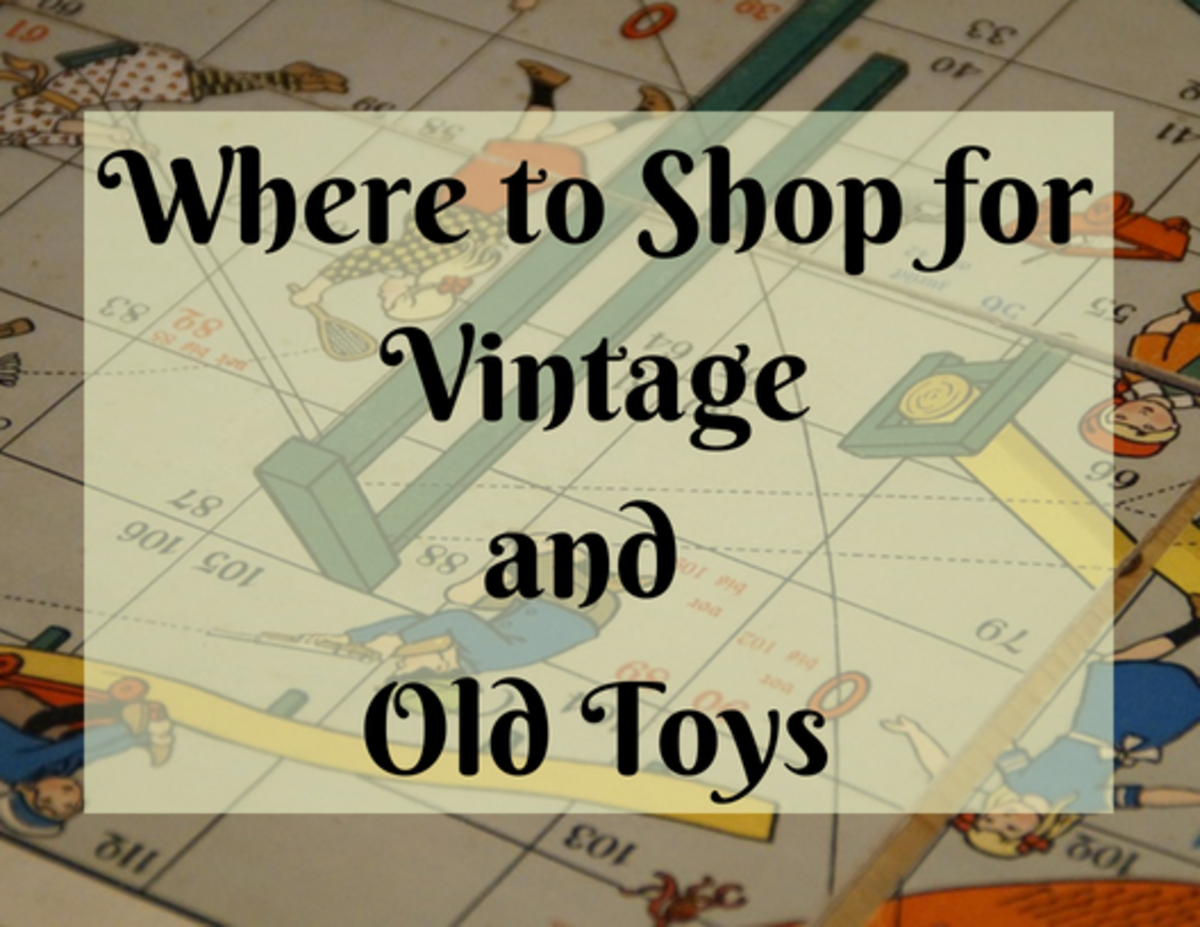 There are websites other than eBay where you can find vintage toys and board games.
