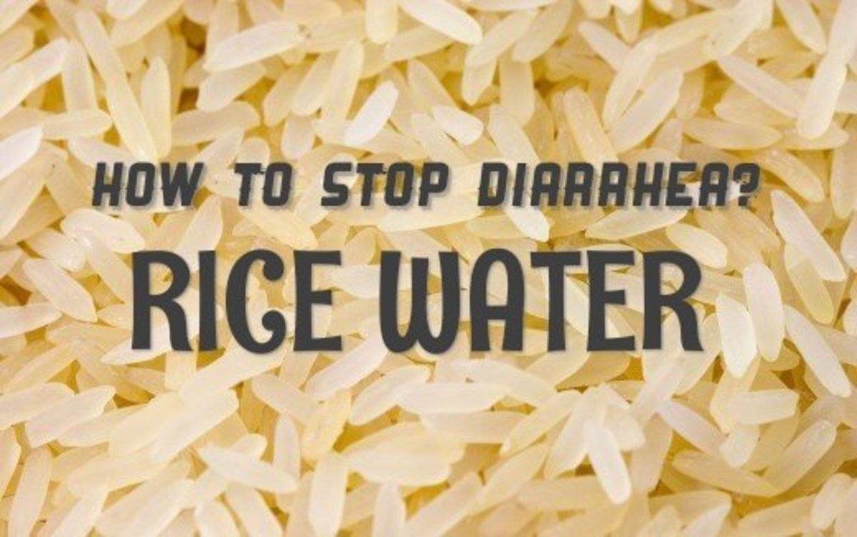 How to stop Diarrhea by using Rice Water