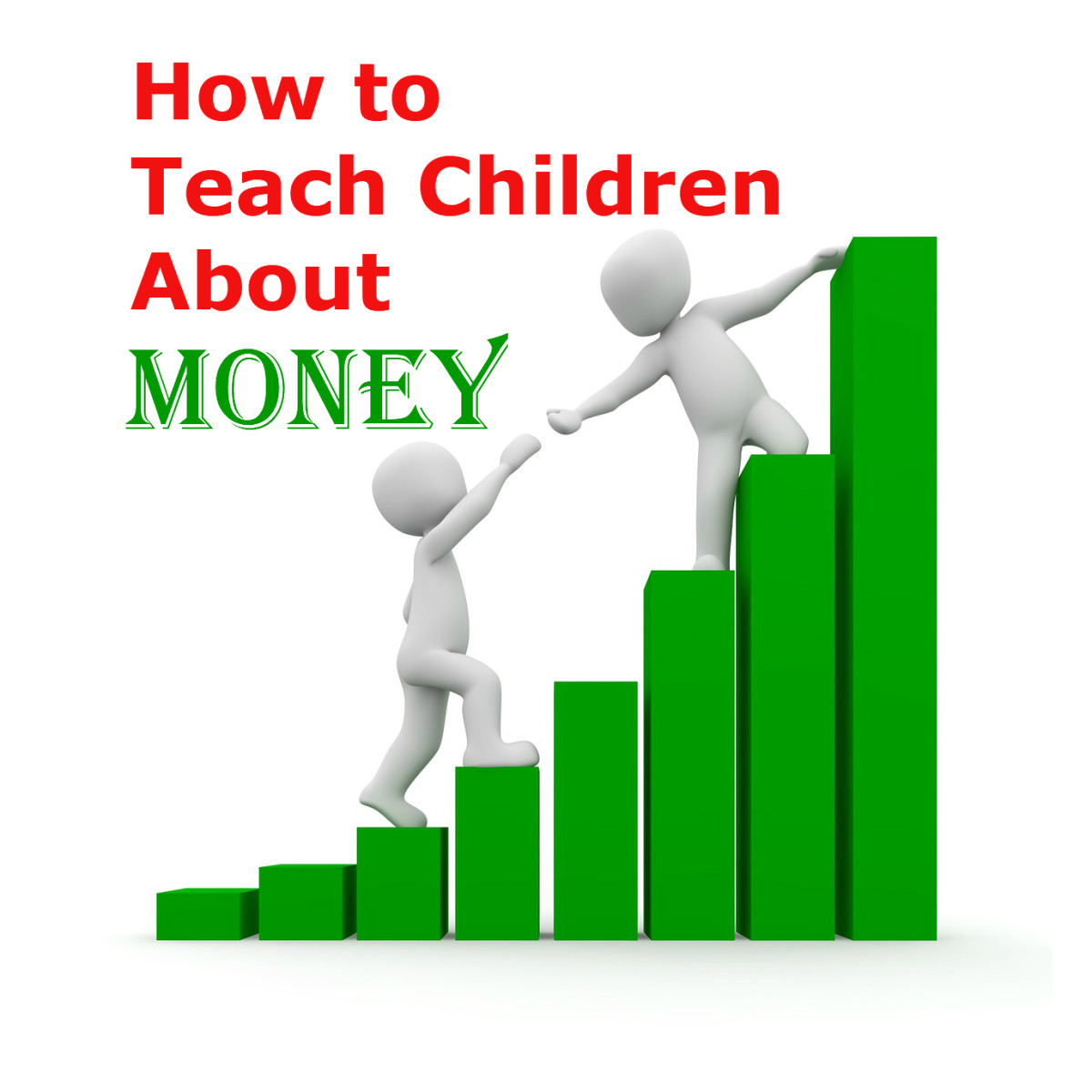 Tips on teaching children that money is a limited and hard-to-get resource. Ideas on how to explain where money may come from, how to save, and how to spend.