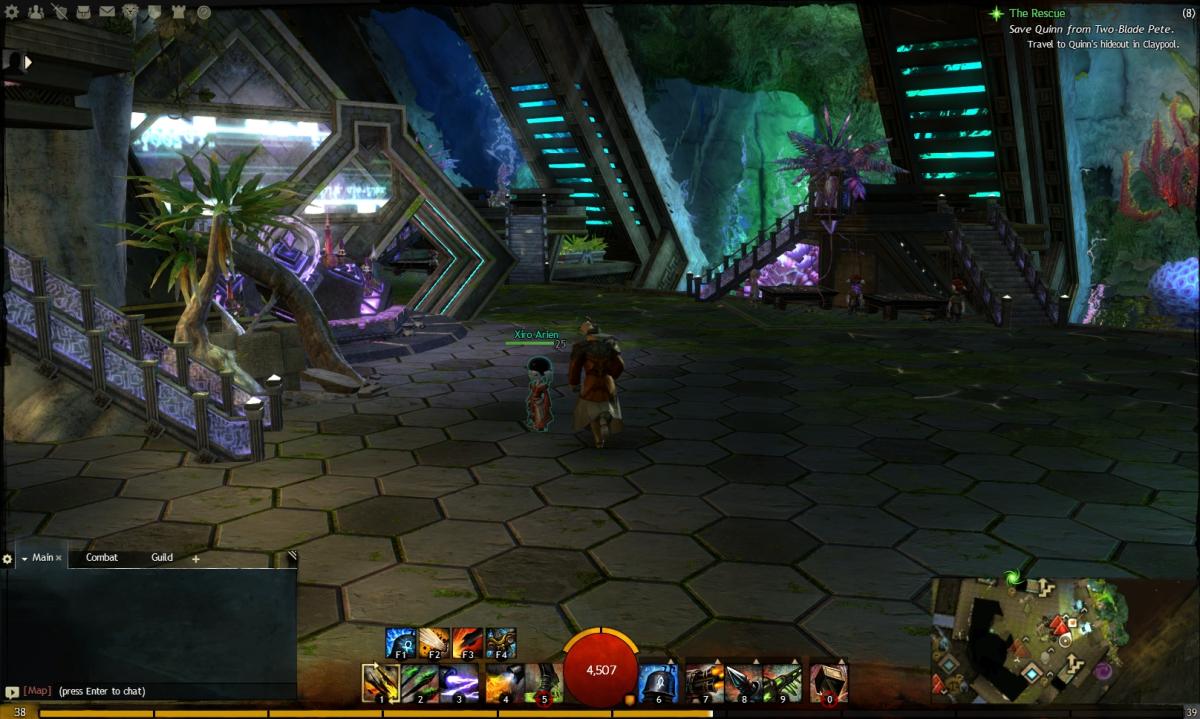 """Guild Wars 2"" Vista Location Guide: Rata Sum"