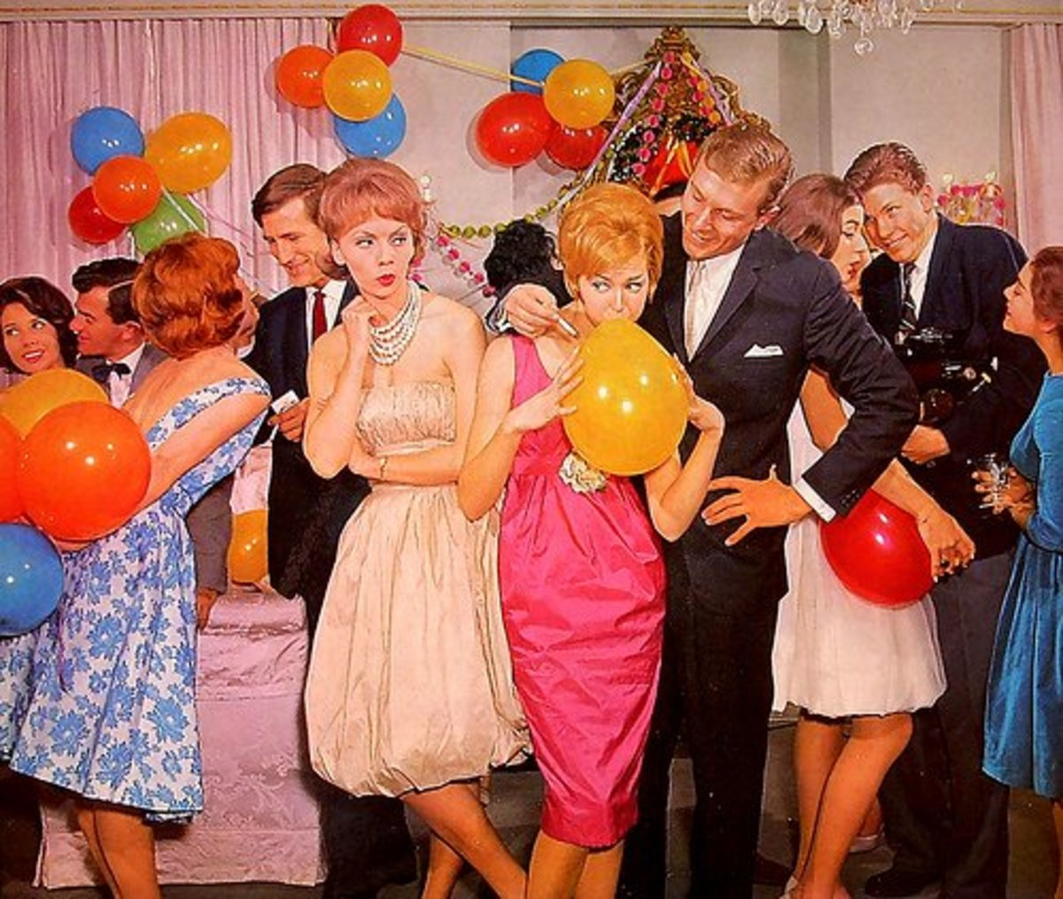 How to Throw a 1960s-Themed Party