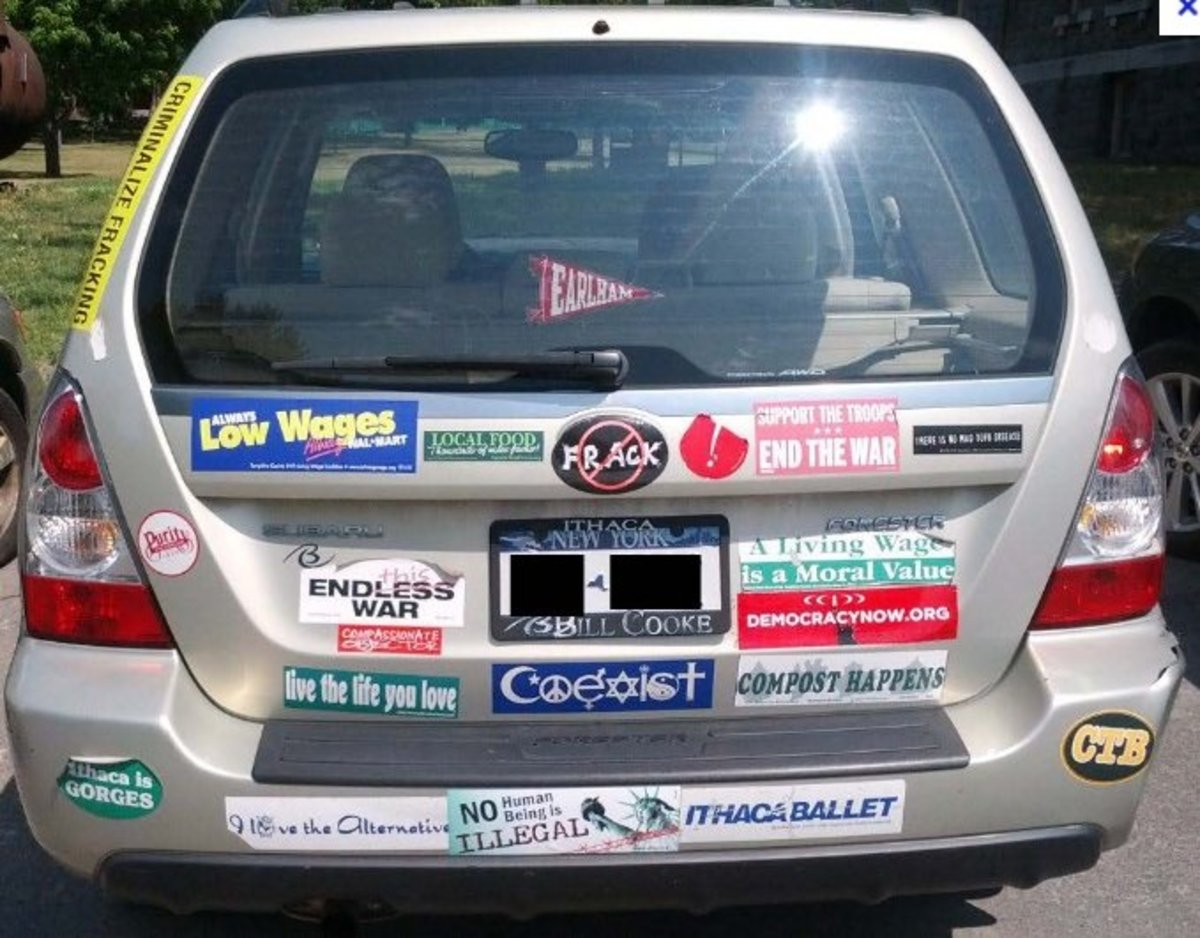 Ten Essential Bumper Stickers for Subaru Owners