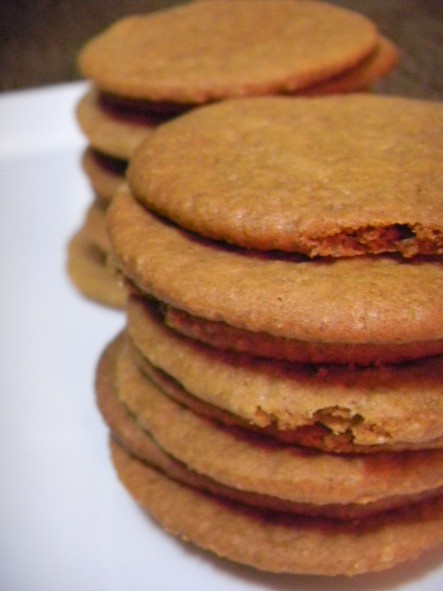 Crunchy Ginger Snap Cookies Recipe