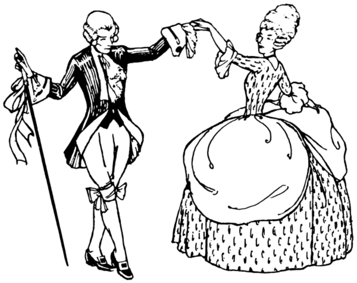 The minuet was originally a French dance