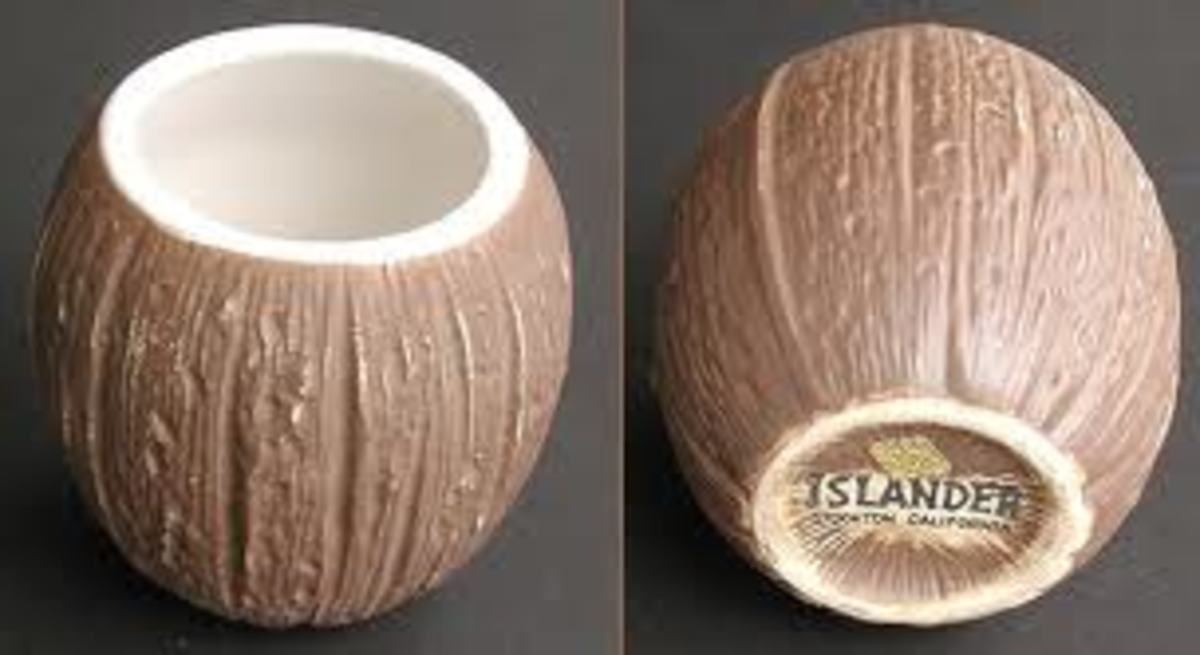 The replacement plastic coconut cups used in the second and third seasons.