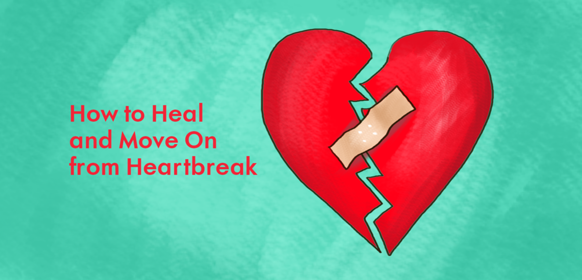 How To Heal And Move On From A Broken Heart Pairedlife