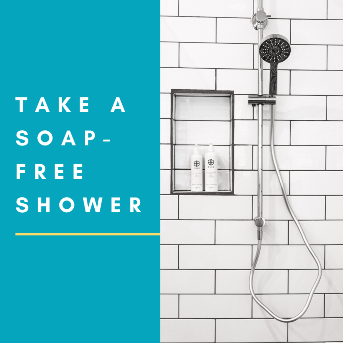 Lose the Soap: Take a Soap-Free Shower (And Still Smell Sweet)