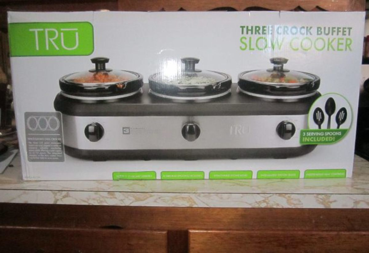 Review of the Tru 3 Crock-Pot Buffet Slow Cooker