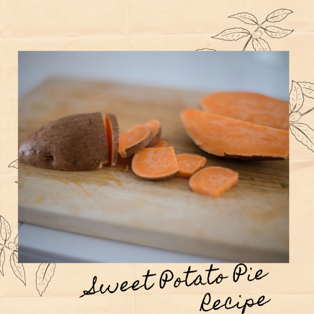 Simple Sweet Potato Pie Recipe