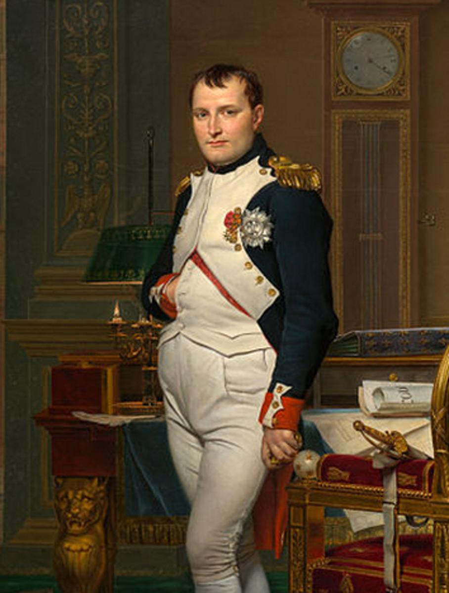 A famous waistcoat-wearer