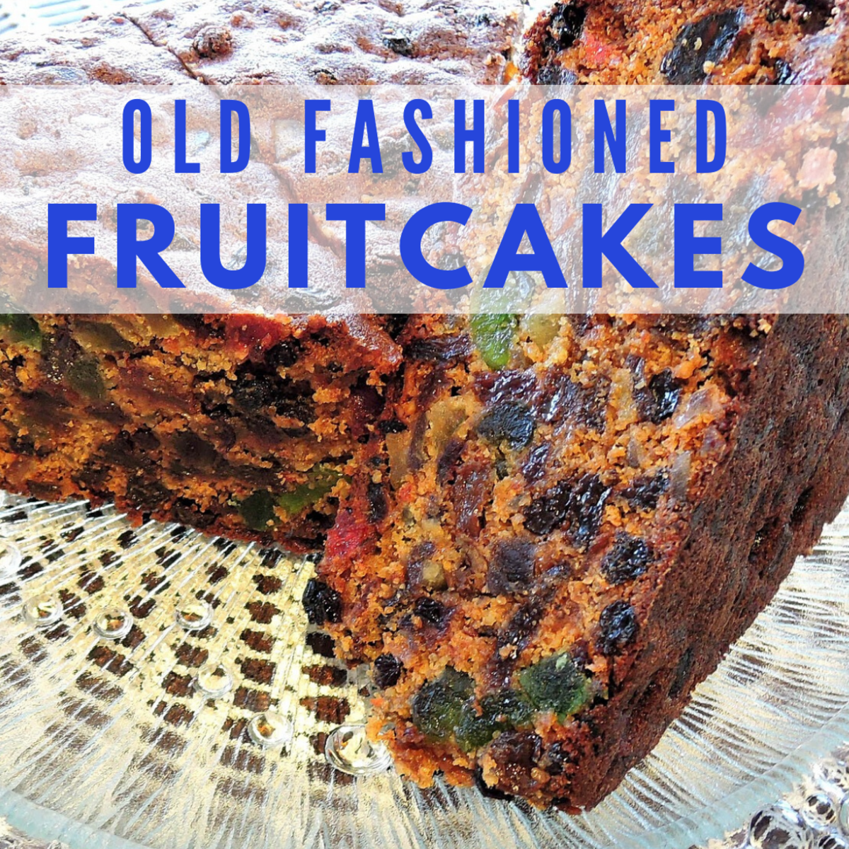 Homemade fruitcake is just so much better than store-bought.