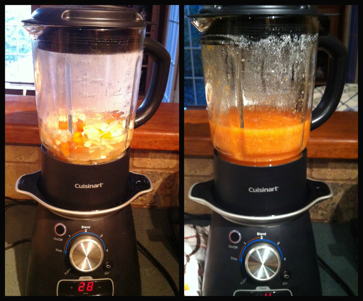 The Cuisinart Blend and Cook Soup & Beverage Maker is my new best friend in the kitchen!