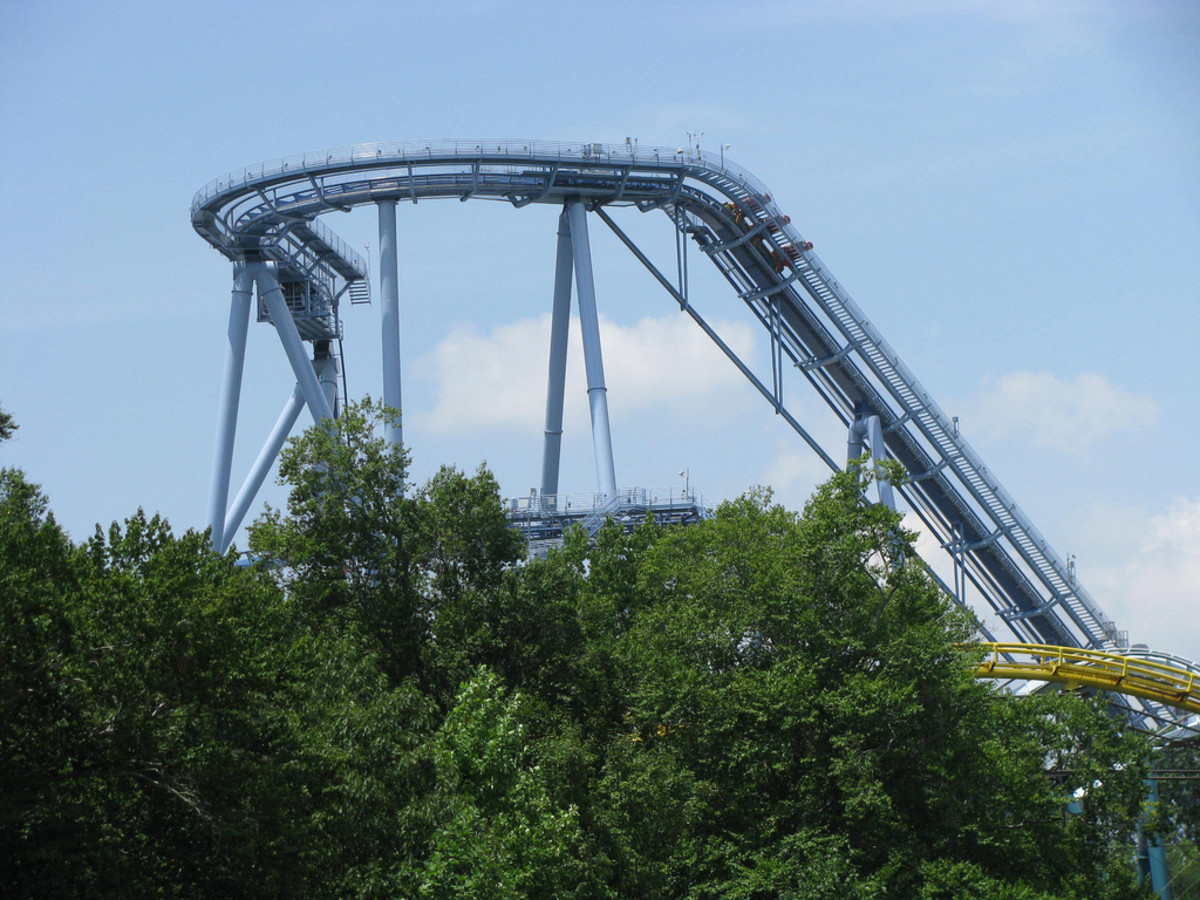 Review Of Griffon Roller Coaster At Busch Gardens Williamsburg