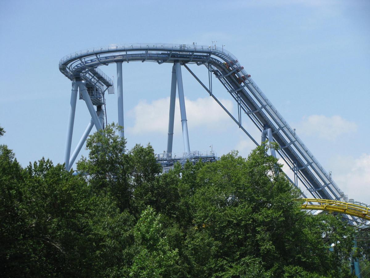 Review of Griffon Roller Coaster at Busch Gardens, Williamsburg