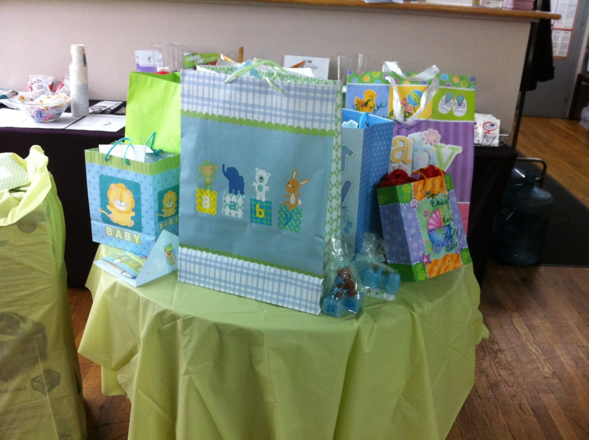 Baby Shower gifts from one of three baby showers I had for my first son.