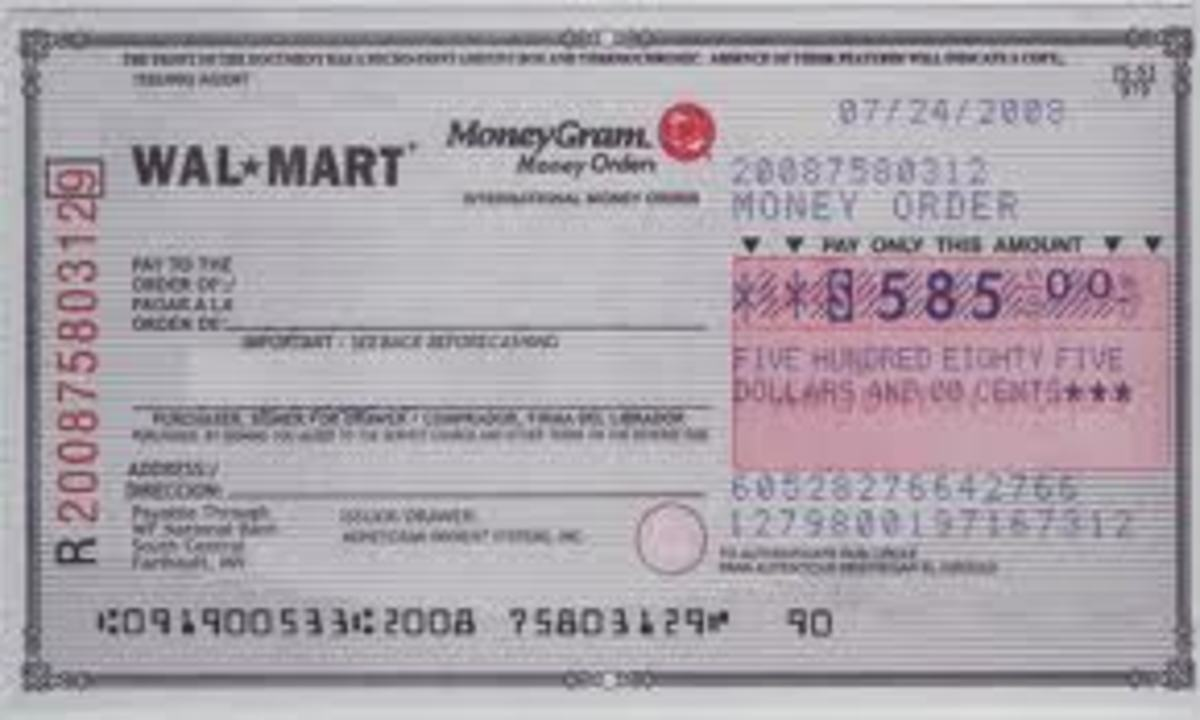 MoneyGram Money Orders