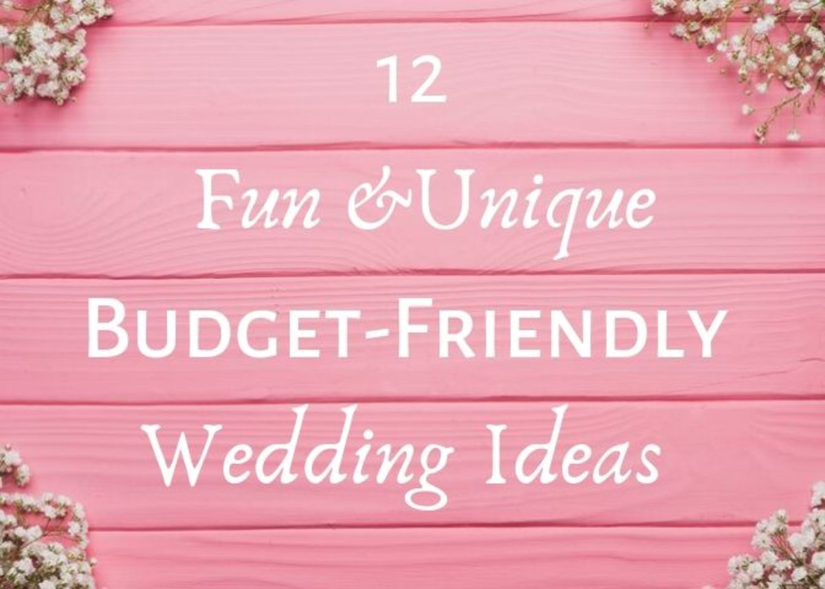 Having a wedding doesn't mean you have to spend a lot of money. These budget-friendly ideas will help make sure your big day is a one-of-a-kind event, without breaking the bank!